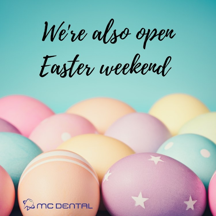 We're OPEN Easter long weekend